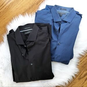 Banana Republic Grant Fit Set of 2 Button Downs